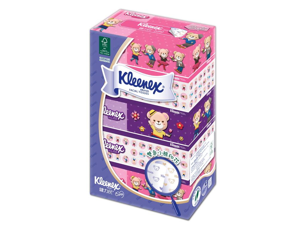 Kleenex Teddy Bear Tissue Packaging - bdworkshop company limited